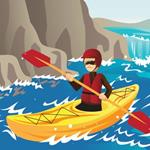 Pixwords KAYAKING