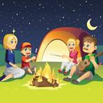 Pixwords CAMPING